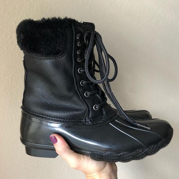9fa2ffbf251 Steve Madden Fur Duck Boots